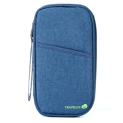 7d83eb34d65 Amazon.com  Travel Wallet - Passport Holder - RFID Document ...