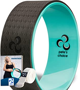 Amazon.com: Pete's Choice Rueda para Dharma Yoga con ...