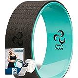 Pete's Choice - Rueda de yoga Dharma con libro electrónico y correa de yoga gratis, cómodo y duradero accesorio de…