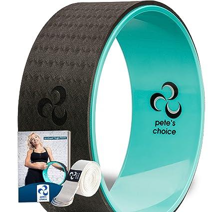 petes choice Rueda de Yoga Dharma con Bonus de eBook y una ...