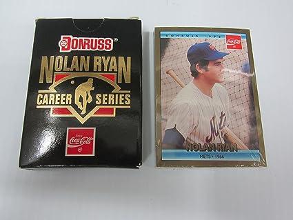 1992 Donruss Coca Cola Nolan Ryan Factory Sealed Career Set