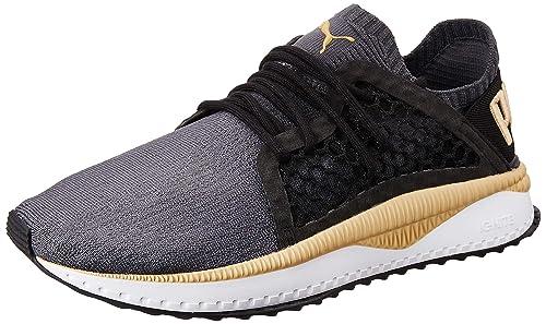 a0446a269f9fc3 Puma Unisex s Tsugi Netfit Evoknit Quiet Shade-Asphalt Sneakers  Buy ...