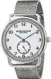 Stuhrling Original 207M.01 - Montre Quartz - Affichage Analogique - Bracelet Acier inoxydable Argent et Cadran Blanc - Homme