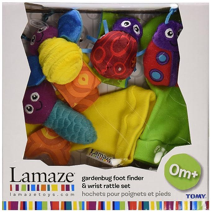 Lamaze - Sonajeros para muñeca y calcetines insectos (TOMY LC27111): Amazon.es: Juguetes y juegos