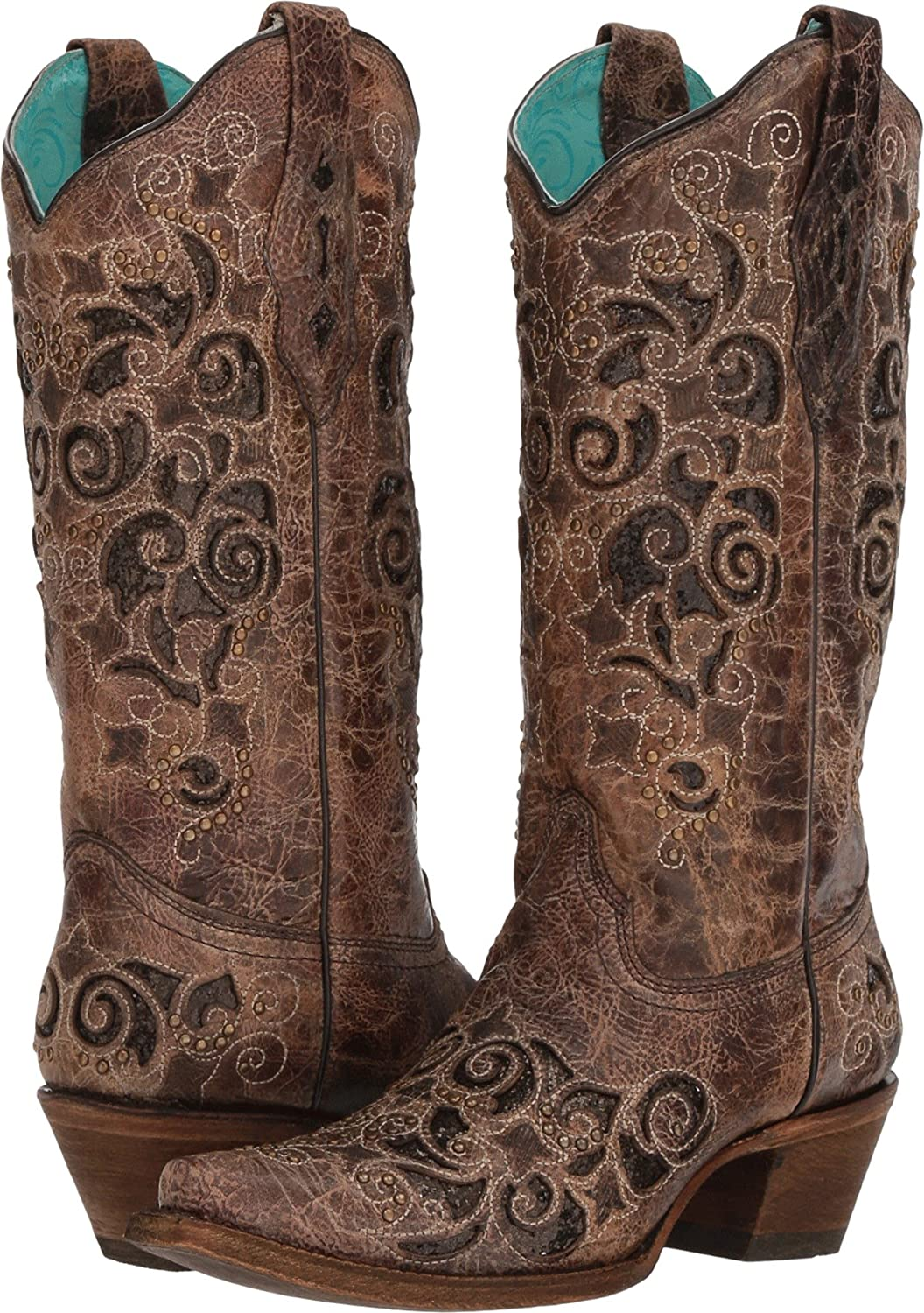 Corral Boots Womens A3228 B079331V3S 8.5 B(M) US|Brown
