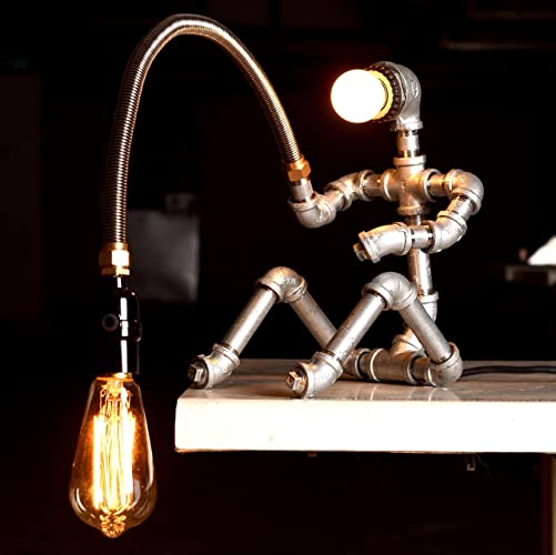 Amazon.com: Fishing Man Table Lamps, Desk Lamp, Table Lamps for ...