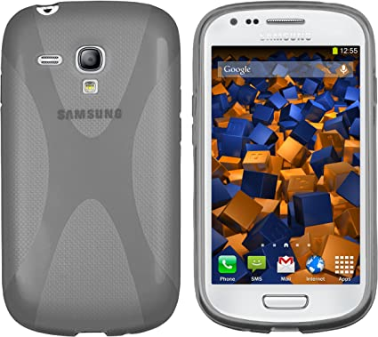 Mumbi X - Carcasa para Samsung Galaxy S3 Mini, Color Gris: Amazon.es: Electrónica