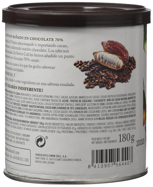 Chocolates Simón Coll, Cacao soluble - 180 gr.: Amazon.es: Alimentación y bebidas