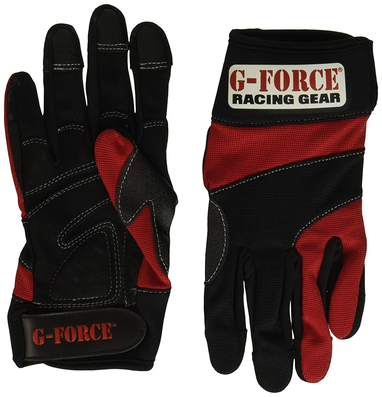 G-Force 4250XLGBU Blue X-Large Crew Gloves
