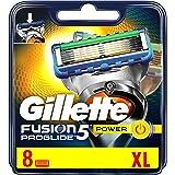 Gillette Fusion ProGlide Power – Lames de rasoir pour hommes 8pièces