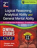 Logical Reasoning, Analytical Ability and General Mental Ability for Civil Services Preliminary Examination