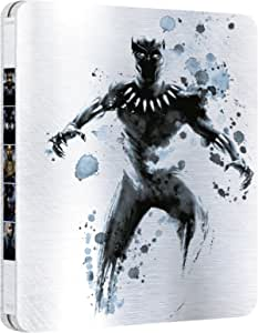 Black Panther Exclusive Limiited Edition Steelbook (Blu-Ray) 3D 2-Disc IMPORT 1 3D + 1 2D