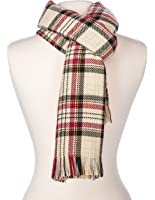 Noble Mount Mens Soft Winter Patterned Scarf