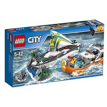 Amazon lego city 60168 sailboat rescue building toy with boats lego city 60168 sailboat rescue building toy with boats that really float includes coast fandeluxe Images