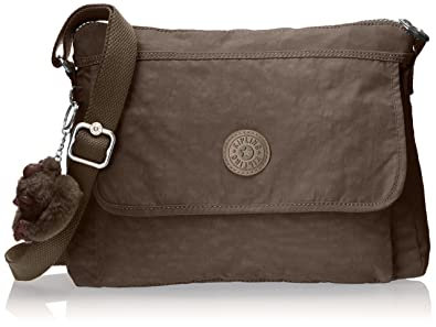 84d96bc5c Kipling Aisling Solid Crossbody Bag Convertible Cross Body,soft earthy  beige,One Size