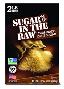 Sugar in the Raw TURBINADO, 2-Pound Box