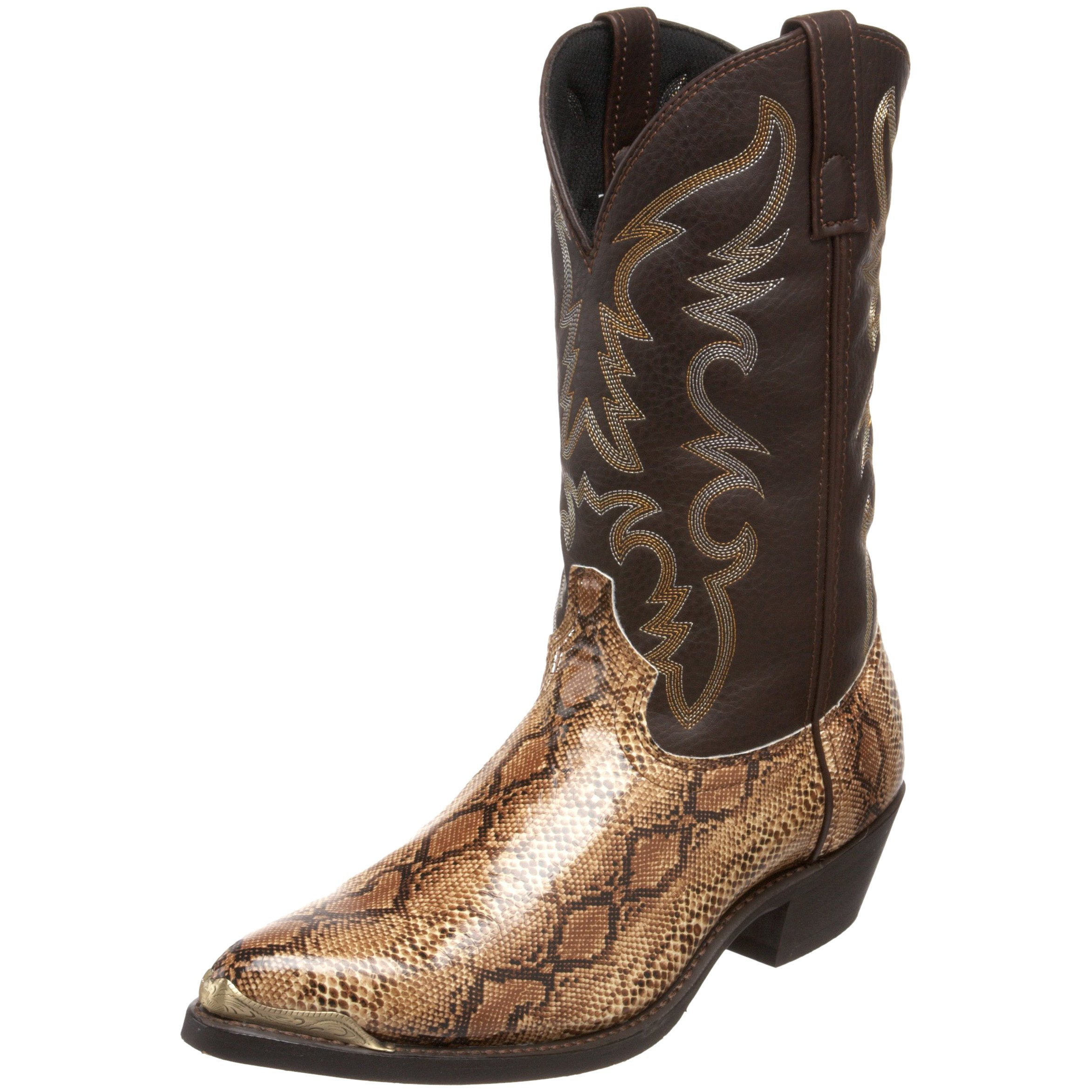 Laredo Men's 68068 Monty Western Boot,Brown/Copper,10 D US