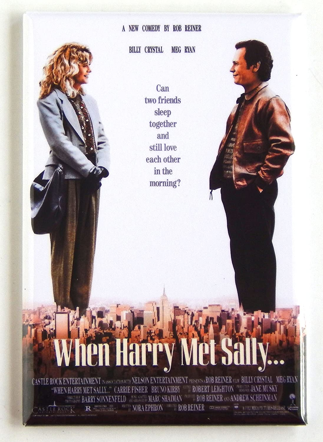Amazon.com: When Harry Met Sally Movie Poster Fridge Magnet (2 x 3 ...