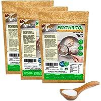 Eritritol 100% Natural Organico Ecologico 3Kg pack en