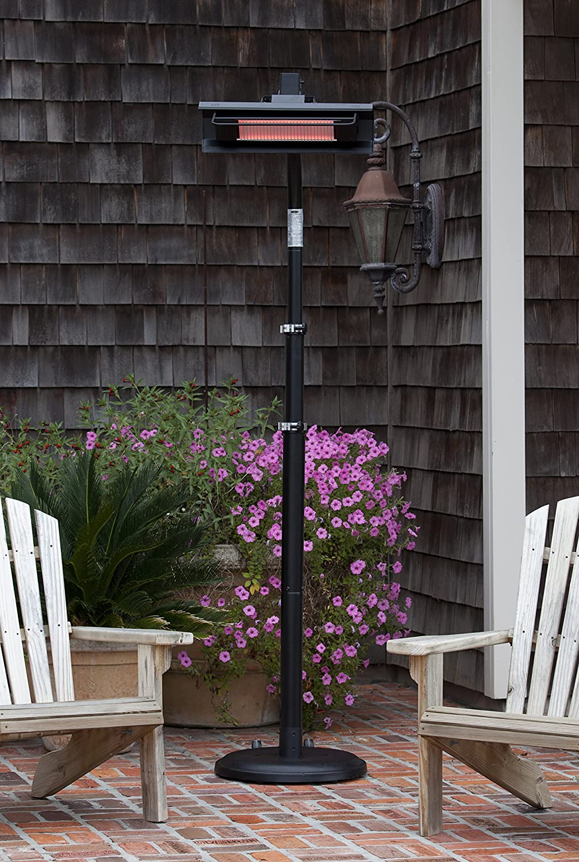 Awesome Amazon.com : Fire Sense Telescoping Infrared Indoor/Outdoor Patio Heater,  Black : Portable Outdoor Heating : Garden U0026 Outdoor