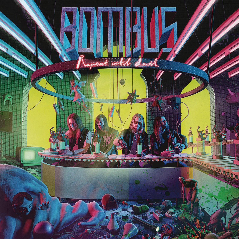 CD : Bombus - Repeat Until Death (Digipack Packaging)