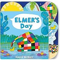 Elmer's Day: Tabbed Board Book (Elmer Picture Books)