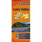 Loire Valley Michelin Regional Map (Michelin National Map)