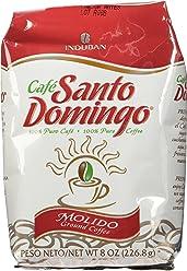 Santo Domingo 100% Pure Ground Coffee Bag 8 Oz.