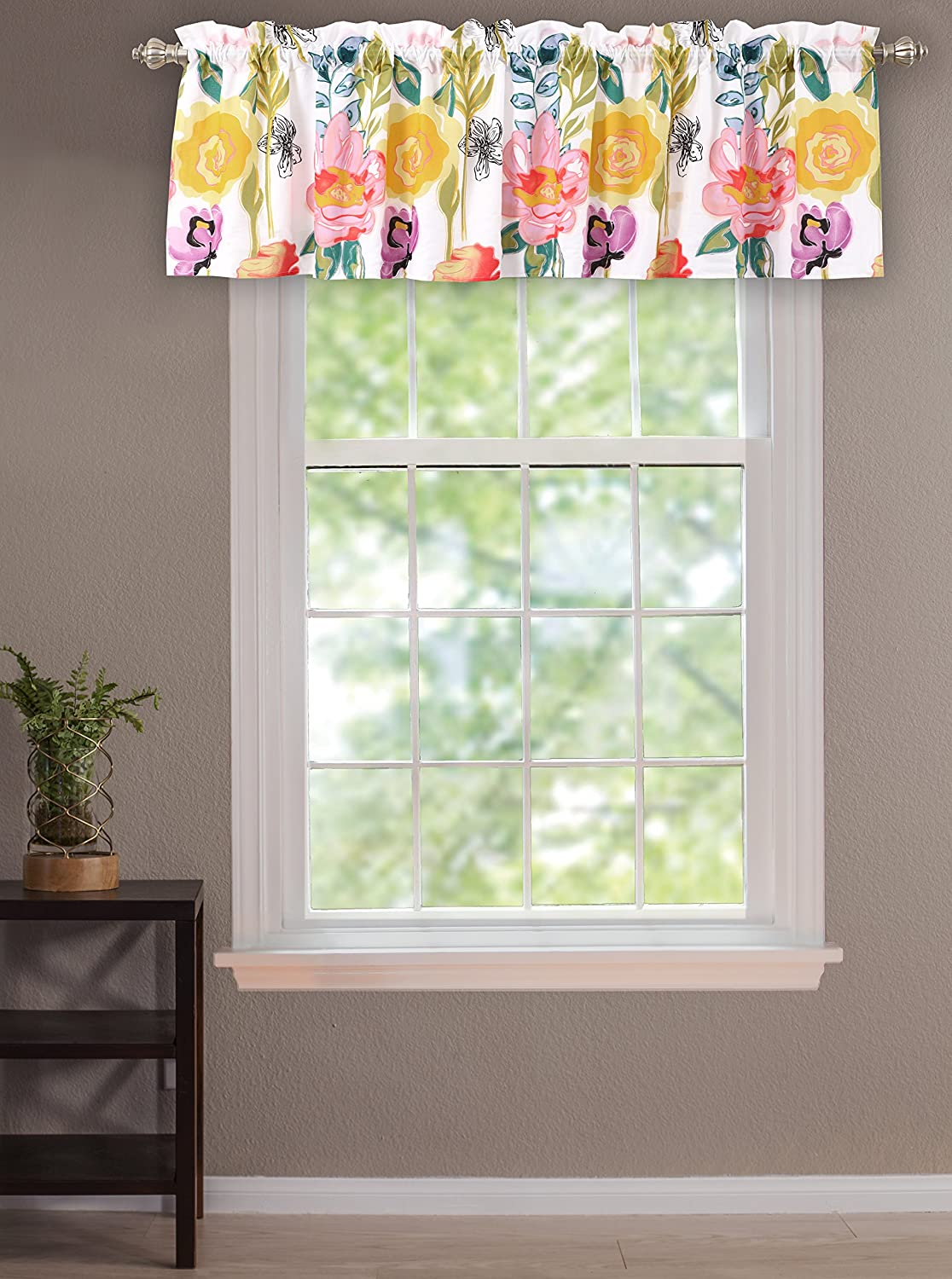 Greenland Home Watercolor Dream Window Valance Greenland Home Fashions GL-1408AV
