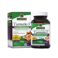 Natures Answer Turmeric-3 - 90 Vegetarian Capsules