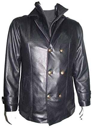 dd8ac5a1192 NETTAILOR Tall Big Man 1064 Big Tall Size 4 Season Leather Jacket Zip Out  at Amazon Men s Clothing store
