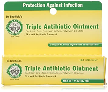 Dr  Sheffield Triple Antibiotic Ointment