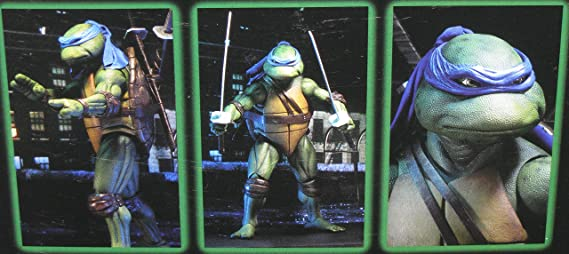 Teenage Mutant Ninja Turtles (1990) - Leonardo Action Figure ...