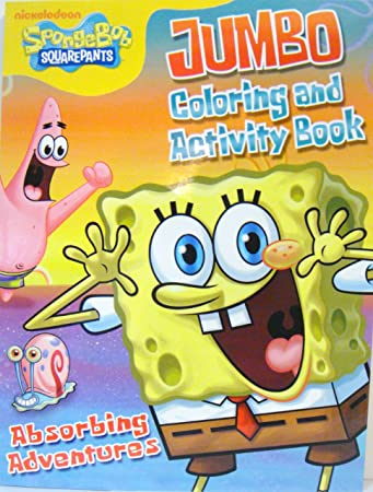 spongebob coloring activity book d - Coloring And Activity Books
