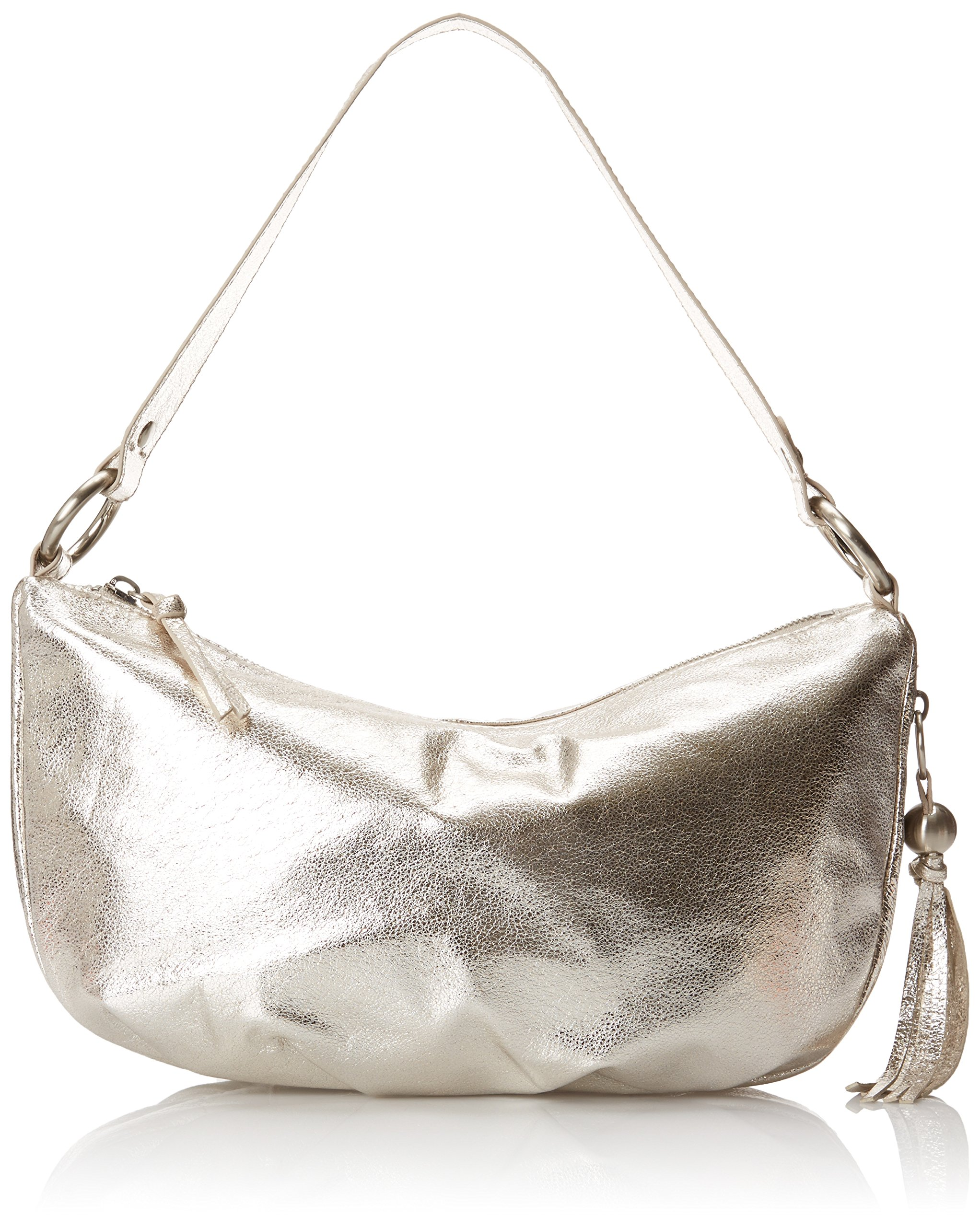HOBO Phoebe Shoulder Hobo Shoulder Bag, Metallic, One Size by HOBO
