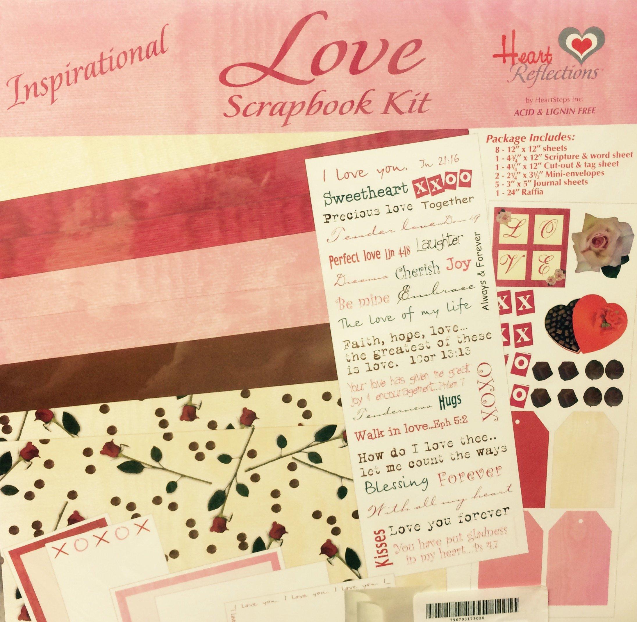 Inspirational Love 12'' x 12'' Scrapbook Kit (17302)
