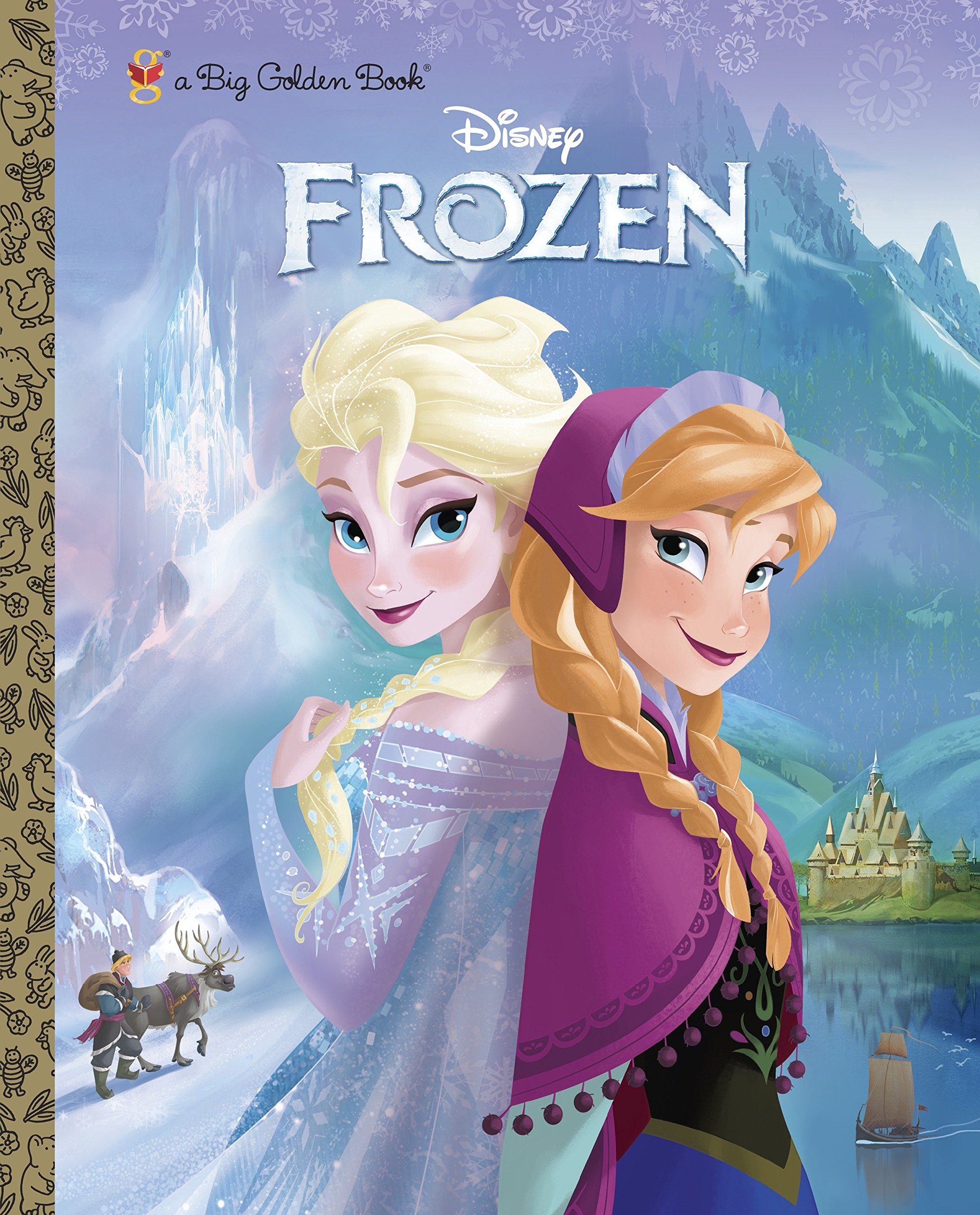 Download Frozen Big Golden Book (Disney Frozen) PDF