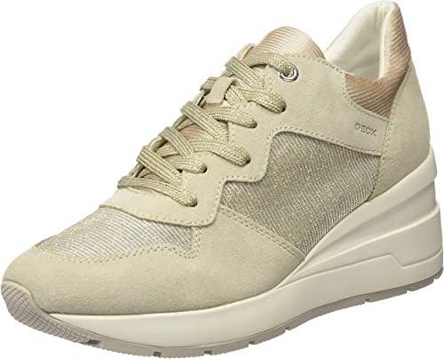 Obligatorio gerente Virus  Geox Women's D Zosma C Trainers: Amazon.co.uk: Shoes & Bags