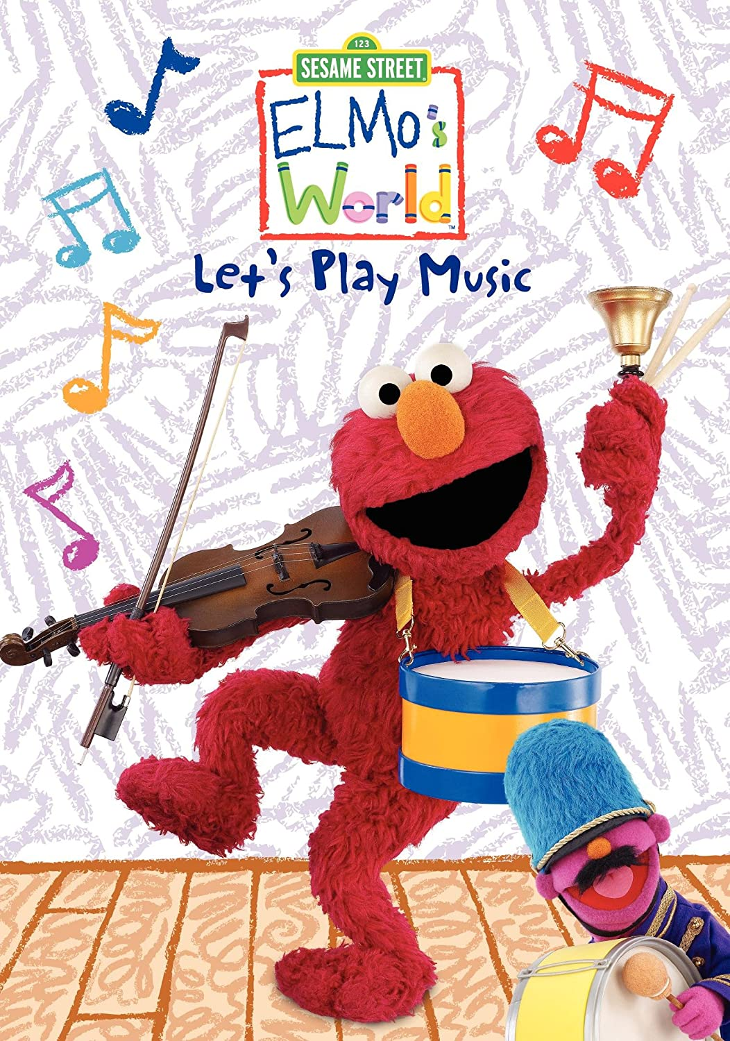 Elmo's World: Let's Play Music Kevin Clash Fran Brill Tyler Bunch Leslie Carrara-Rudolph