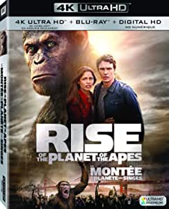 Rise Of The Planet Of The Apes (Bilingual) [4K Blu-ray + Digital Copy]