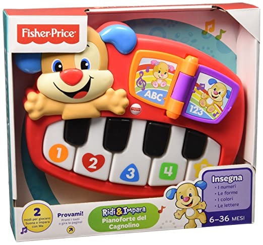 87 opinioni per Fisher Price Infant DLD22- Pianoforte del Cagnolino, Multicolore