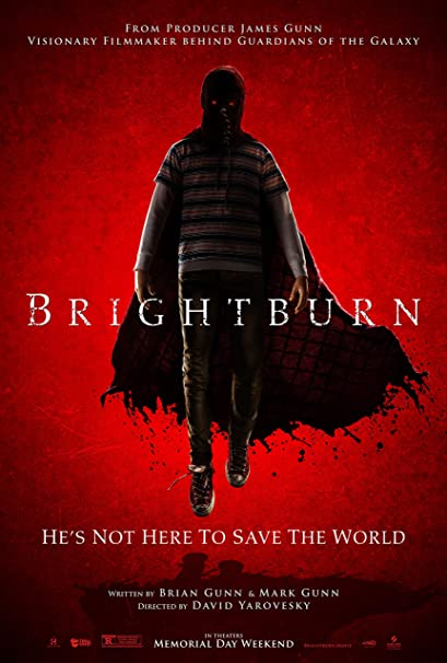 Image result for brightburn poster