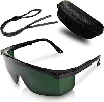 Gafas De Protección Premium Para Depilación Hpl Ipl Con Funda Protectora Y Paño De Limpieza Para Las Lentes Comodidad Absoluta Y Protección óptima Para Sus Ojos Amazon Es Salud Y Cuidado Personal
