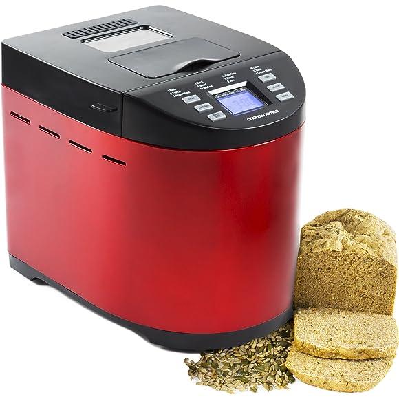 Andrew-James-Red-Premium-Bread-Maker