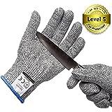 Ministore 防刃手袋 防刃グローブ 作業用手袋 作業グローブ カットガード 切れない手袋 耐切創レベル5 サイズ L