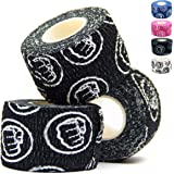 WOD Nation Weightlifting Hook Grip Tape - 3 Pack 23 Feet Long Sticky, Comfortable, Stretchy Athletic Tape for Weight…