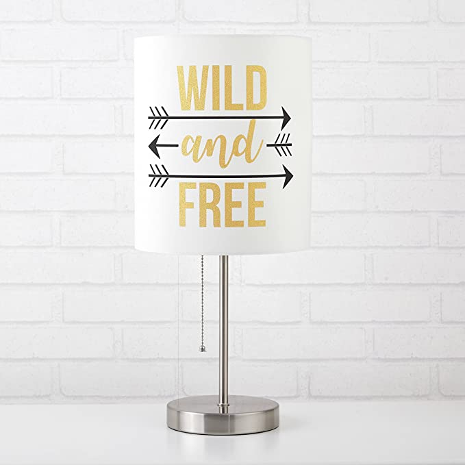 Urban Shop NK639733 Hello Gorgeous Stick Lamp Idea Nuova