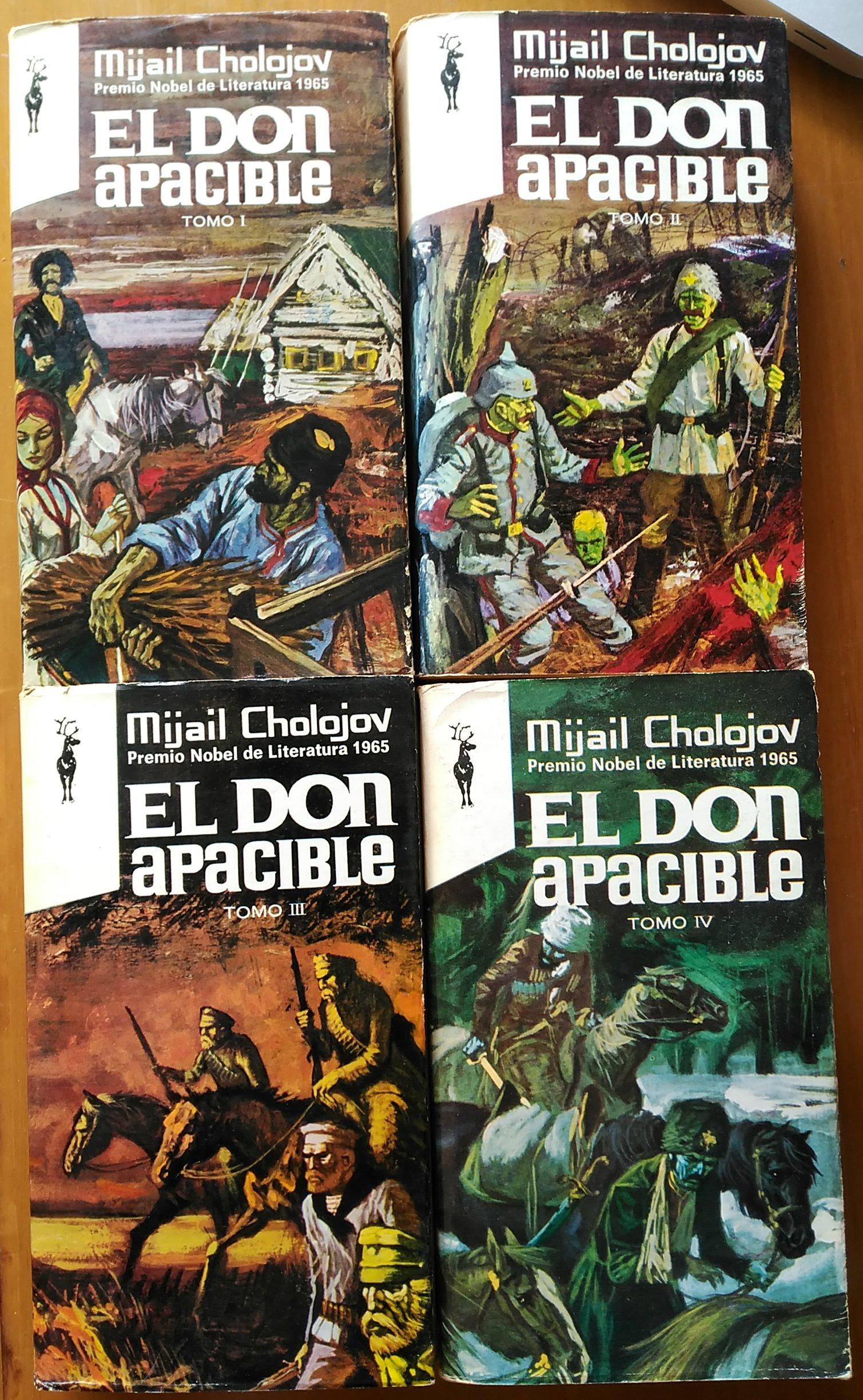 El don apacible.Tomo II: Amazon.es: Mijail Cholojov ...