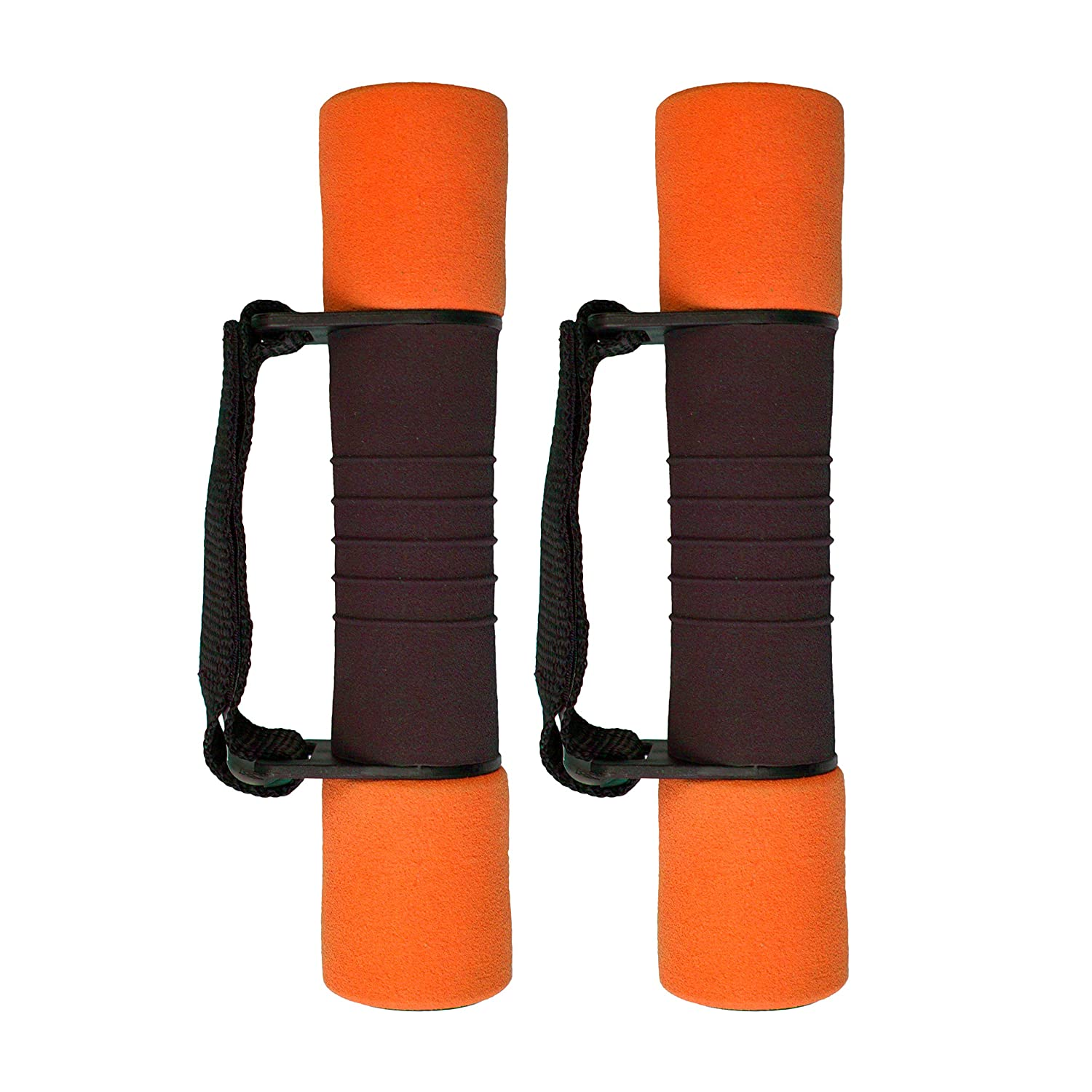 New Image Weights and Dumbbells, ankle weights, wrist weights & weighted vest, 1kg – 5kg New Image Dumbbells 2x1kg Orange High Street TV NIWDO