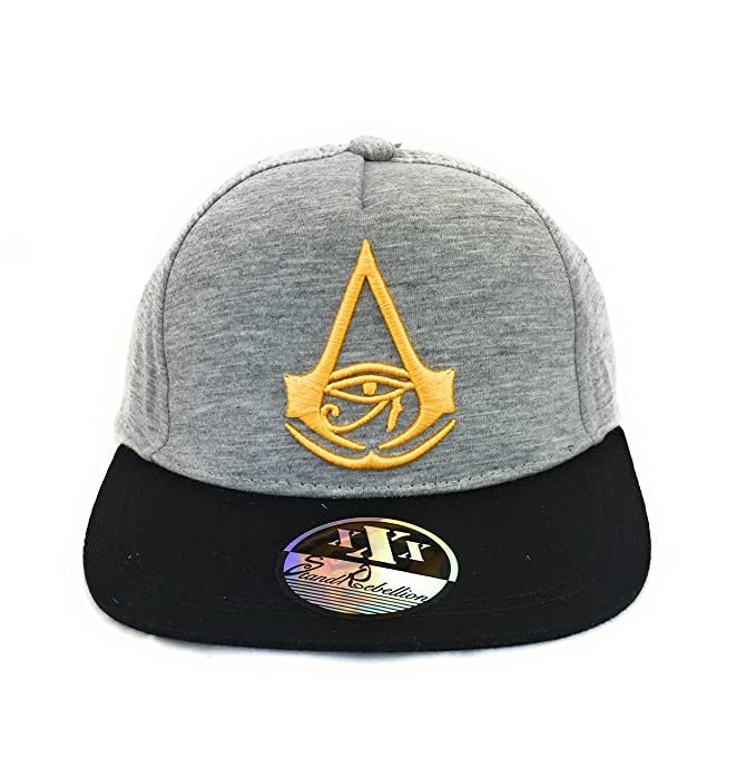 Assassins Creed Gorra con Visera Plana de Estilo Estadounidense ...